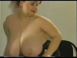 Plumper with huge hanging meatballs and large areolas