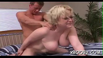 Naughty and breasty wench likes pumping