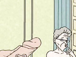 Comic - hawt grandma is lewd