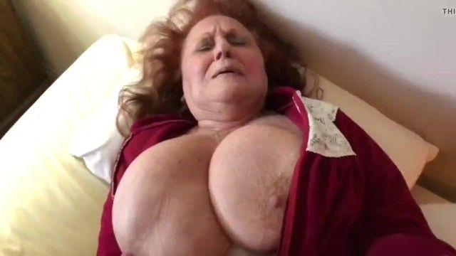 Flawless bbw granny
