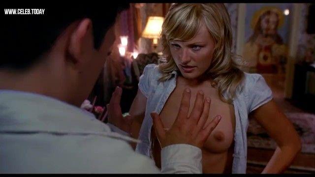 Malin akerman - neşeli yasal yaş genç göğüslerini yanıp sönen - Harold ve Kumar 2004