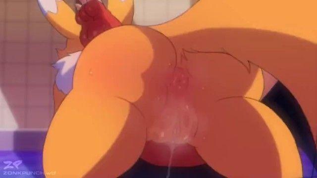Renamon superlatively good yiff porn animation zonkpunch